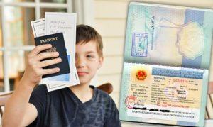 Thủ tục xin visa Ý cho trẻ em