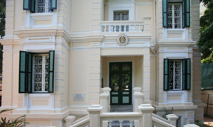 Đại sứ quán Ý: Tại Hà Nội